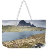 Suilven On A Stormy Day Weekender Tote Bag