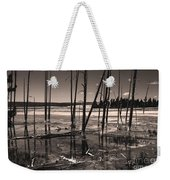 Sulfur Field Weekender Tote Bag
