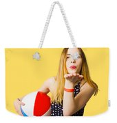 Summer And Beach Love Weekender Tote Bag