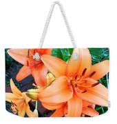 Summer Blast Of Color Weekender Tote Bag
