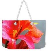 Summer Lilly Pink Weekender Tote Bag
