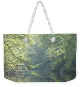 Summer Time River And Trees Weekender Tote Bag