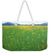 Summer Wild Field Weekender Tote Bag