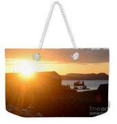 Sun Rise At Lyme Regis  Weekender Tote Bag