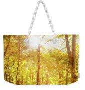 Sunbeams In The Forest Weekender Tote Bag