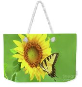 Sunflower And Swallowtail Weekender Tote Bag