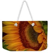 Sunflower Beauty Weekender Tote Bag by Judy Hall-Folde