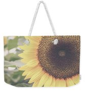 Sunflower Haze Weekender Tote Bag