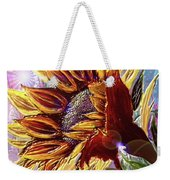 Sunflower In The Sun Weekender Tote Bag by Darren Cannell