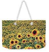Sunflowers In Kansas Weekender Tote Bag