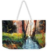 Sunlight Colorful Path Weekender Tote Bag