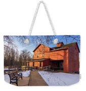 Sunny Winter Day At Bonneyville Mill Weekender Tote Bag