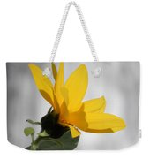 Sunny Yellow Tiny Sunflower Weekender Tote Bag