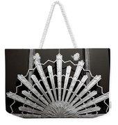 Sunrays Sunburst Art Feature Weekender Tote Bag