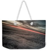 Sunrise Above The Clouds Weekender Tote Bag