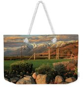 Sunrise In Carson Valley Weekender Tote Bag