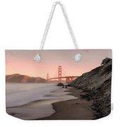 Sunrise In San Fransisco- Weekender Tote Bag by JD Mims