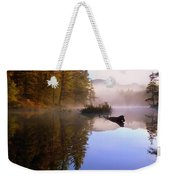 Sunrise On Nick's Lake Weekender Tote Bag