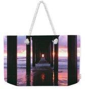 Sunrise Over The Pacific Ocean Seen Weekender Tote Bag