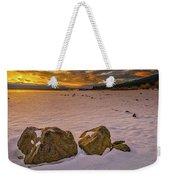 Sunrise Rocks Weekender Tote Bag
