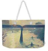 Sunrise Rowers On Lady Bird Lake Austin Weekender Tote Bag