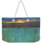 Sunset - Abstract Landscape Painting Weekender Tote Bag