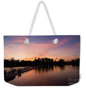 Sunset At Angkor Wat Weekender Tote Bag