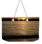 Sunset Beach Vancouver Island 2 Weekender Tote Bag