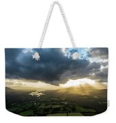 Sunset Between The Bay Weekender Tote Bag