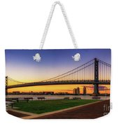 Sunset By The Ben Weekender Tote Bag