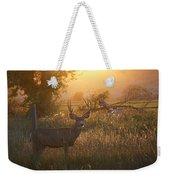 Sunset Deer Weekender Tote Bag