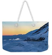 Sunset In The Arctic Weekender Tote Bag