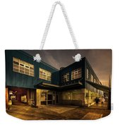 Sunset On North Building Weekender Tote Bag by Juan Contreras