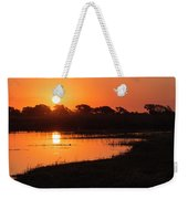 Sunset On The Chobe River Weekender Tote Bag