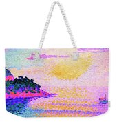 Sunset Over The Sea - Digital Remastered Edition Weekender Tote Bag