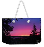 Sunset Summer Weekender Tote Bag