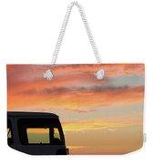 Sunset With The Van Weekender Tote Bag