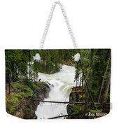 Sunwapta Falls Weekender Tote Bag