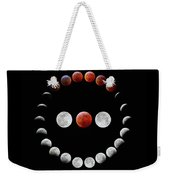 Super Blood Wolf Moon Eclipse Weekender Tote Bag