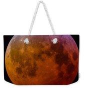 Super Wolf Blood Moon Lunar Eclipse Of 2019 Weekender Tote Bag