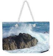 Surf On Rocks Weekender Tote Bag