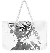 Surprised Cat Weekender Tote Bag
