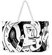 Surrealism Painter Weekender Tote Bag