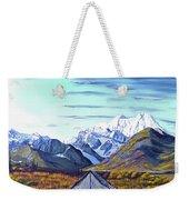 Susitna River Camp Weekender Tote Bag