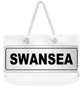 Swansea City Nameplate Weekender Tote Bag