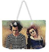 Sweeney Todd And Mrs. Lovett Weekender Tote Bag