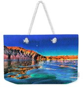 Swells And Reflections Lake Powell Weekender Tote Bag