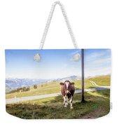 Swiss Cow Weekender Tote Bag