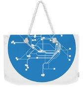 Sydney Blue Subway Map Weekender Tote Bag