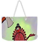 Talking Turkey Weekender Tote Bag